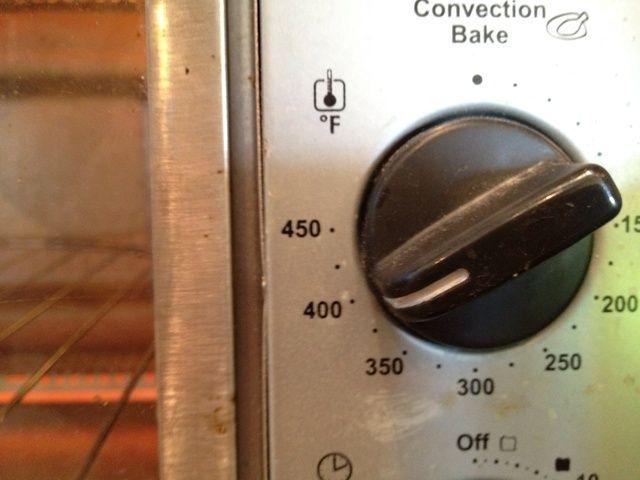 Usando horno tostador está bien