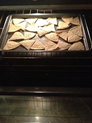Una vez terminado y horno a 350 grados, el lugar en más de unos 7-8 minutos.
