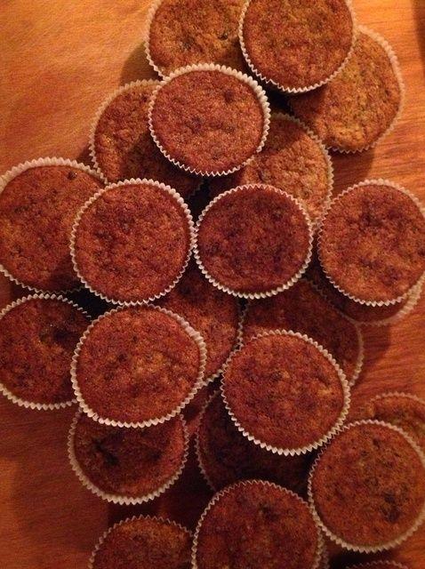Cómo hacer banana y chocolate Receta Muffins