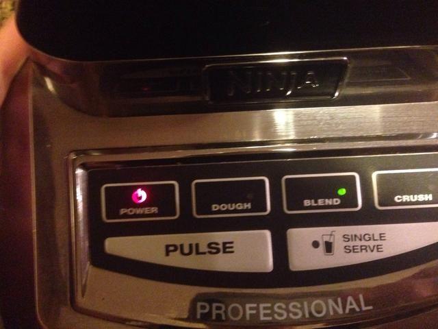 Apague la licuadora y mezclar en prensa