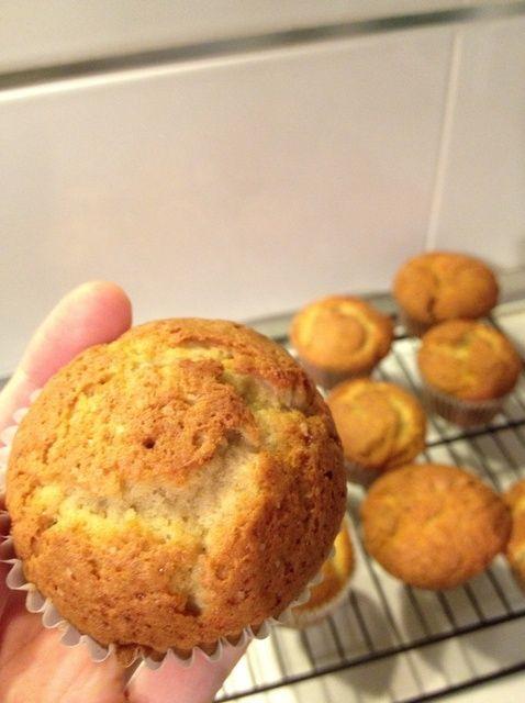 Cómo hacer Muffins de banana Receta
