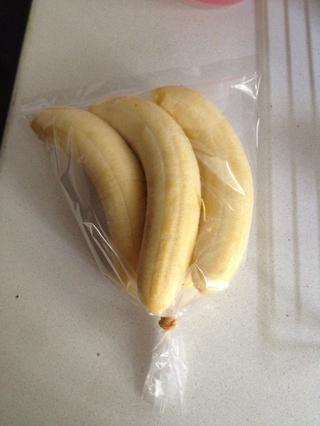 ¿¿¿¿¿¿Consejo?????? Si sus plátanos son muy madura y todavía sé qué hacer. Usted puede poner el resto de los plátanos en una bolsa de plástico y poner en el congelador para preservar para la próxima vez