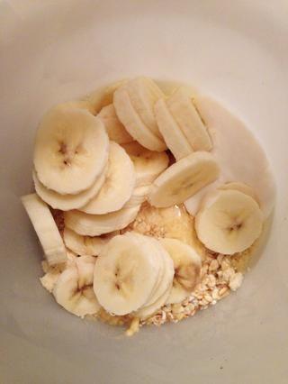 Añadir 1 plátano.