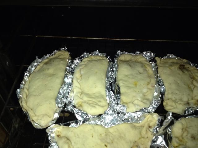 Póngalo en el horno (300) durante 15 minutos. Y usted puede abrir la parrilla del horno para freír