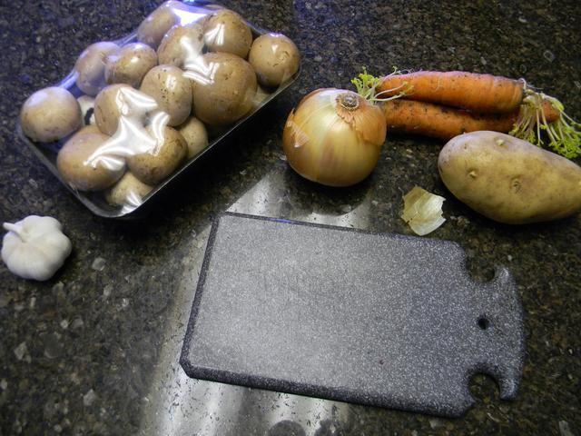 Saquen sus verduras.