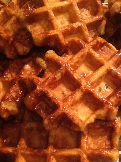 Cómo hacer waffles receta