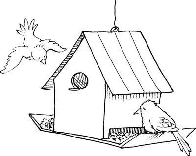 Cómo hacer alimentadores del pájaro