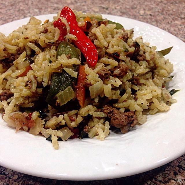 Esta fue una receta anterior utilizando un arroz de grano corto.