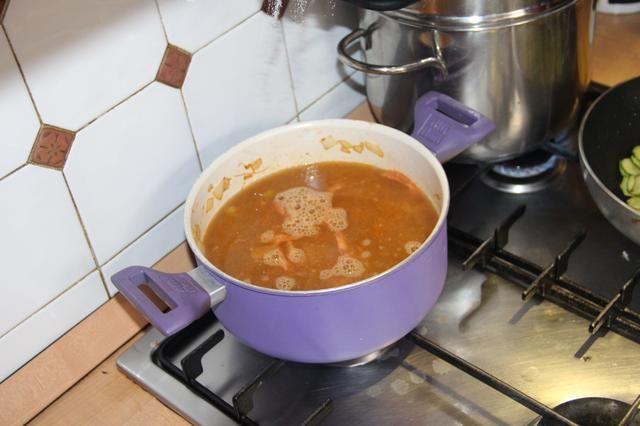 Y tu sopa está lista para usar ...