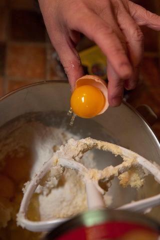 1 yema de huevo
