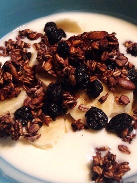 Cómo hacer Blueberry Granola Receta