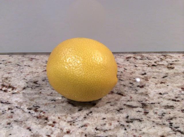Limón (jugo), el jugo de limón durante su arándano puré (1-2 minutos)
