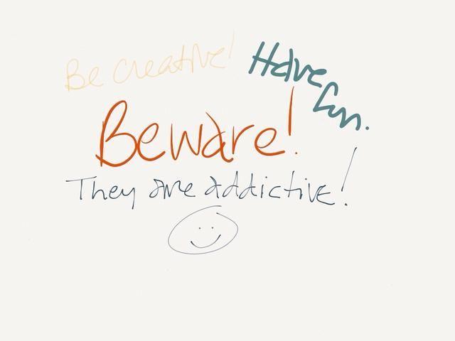 Sea creativo! ¡Diviértete! ¡¡¡Pero cuidado!!! Ellos son adictivos. Mensaje yo algunas fotos de sus imanes!