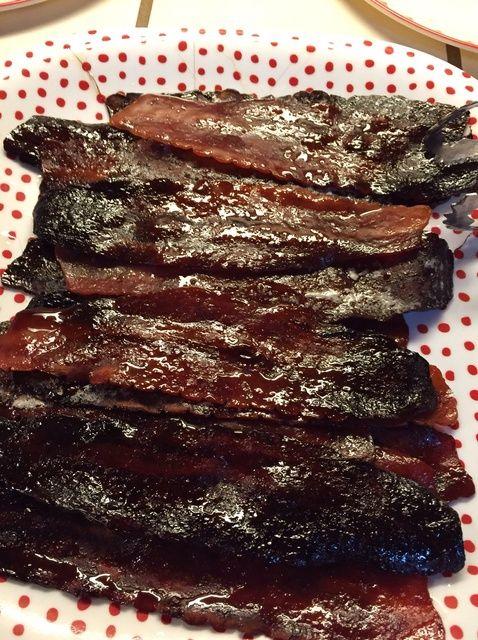 Cómo hacer Brown Sugar Maple bacon Receta