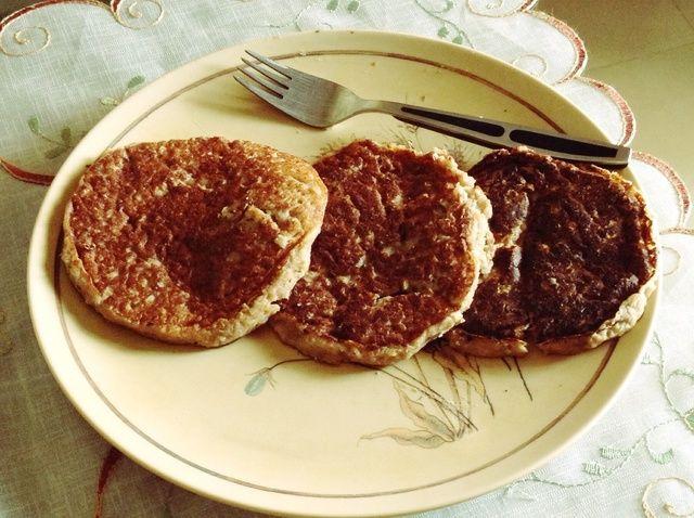 Cómo hacer alforfón Banana Pancakes (Sin Gluten) Receta