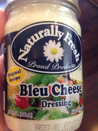 Obtener un queso azul de buena calidad, así, podría por lo que añadir trozos de queso azul si quieres llevarlo al siguiente nivel!