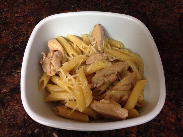 Cómo hacer mantequilla y pollo Penne Receta