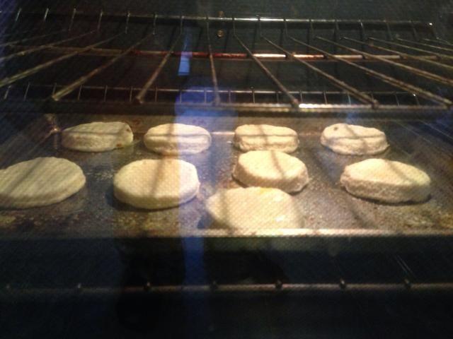 Mira esas galletas de mantequilla.