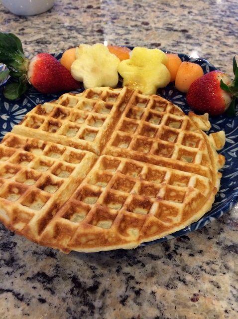 Cómo hacer Buttermilk Waffles Receta