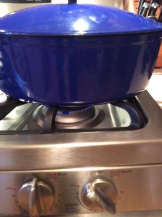Tape y cocine a fuego lento durante 30 minutos.