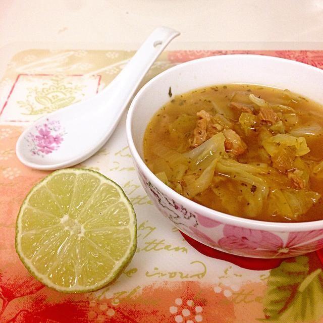 Esta sopa es perfecto para el otoño y el invierno, y también es bueno para los que's on diet.