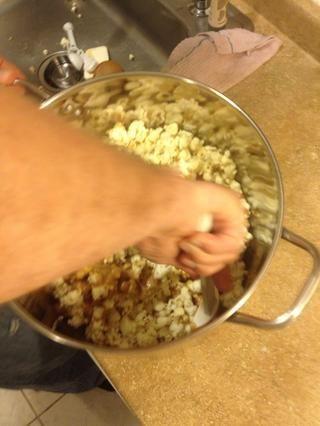 Añadir a palomitas de maíz