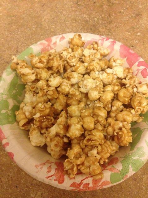 Cómo hacer Caramel Popcorn Receta