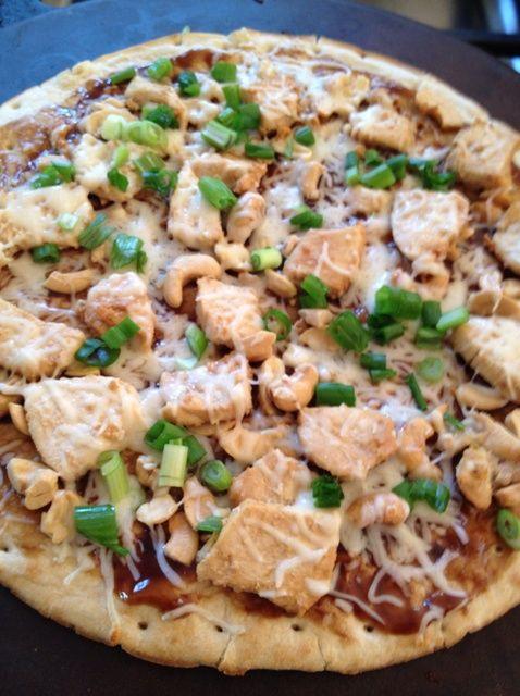 Cómo hacer anacardo Pizza de pollo