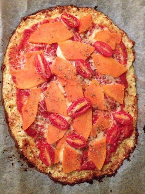 Cómo hacer coliflor Crust Pizza Con Receta Squash