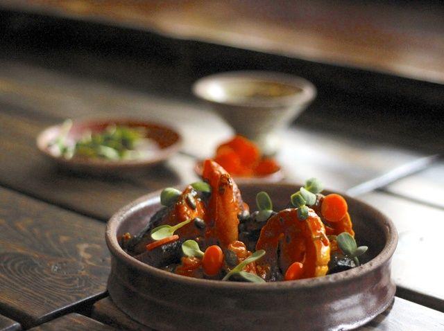 Cómo hacer carbonizados zanahorias y calabaza Receta