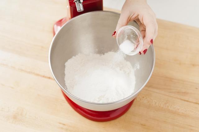 A continuación, añadir la sal.