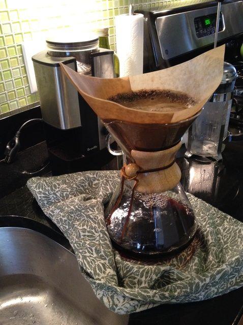 Cómo hacer Chemex Café Receta