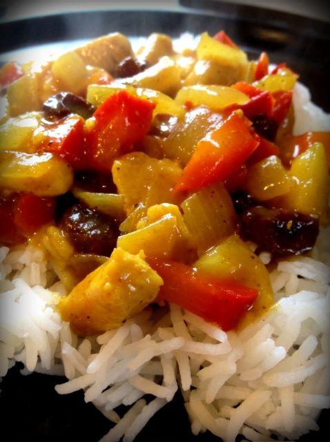 Cómo hacer pollo al curry Receta