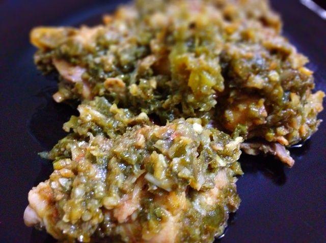 Cómo hacer pollo Estofado de Green Chiles Receta