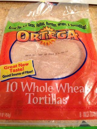 Yo prefiero tortillas de trigo integral, pero se puede utilizar cualquier tipo que te gusta. Debe ser baja en carbohidratos si realiza el seguimiento puntos WW para la receta. Esta receta es de 5 puntos por 1 enchilada.