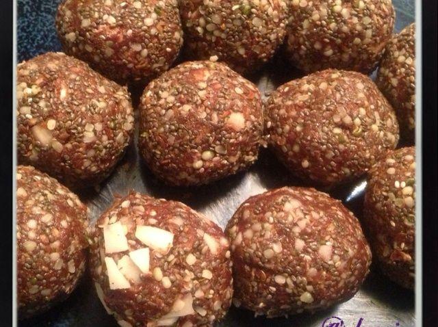Cómo hacer chocolate Almond Bites Receta