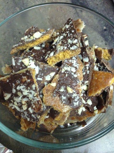 Cómo hacer chocolate corteza Receta de las galletas