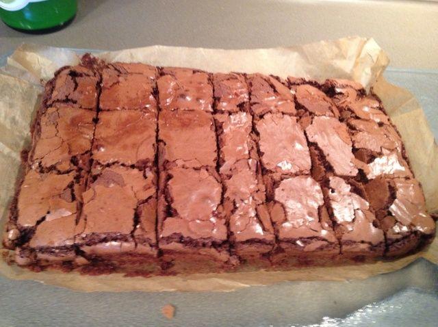 Cómo hacer Brownies de chocolate Receta