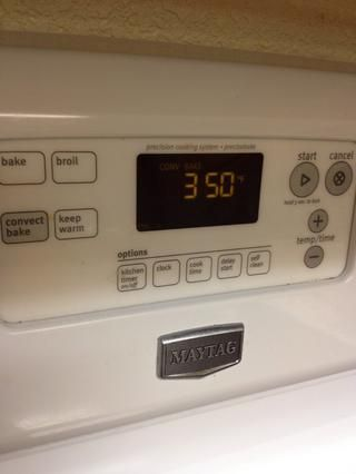 Hornee a 350 grados durante 25-30 minutos