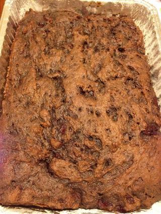 Retire la torta del horno. Ganó't be overly pretty....