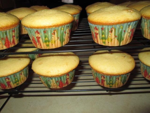 Taa Daa! Pastelitos de masa para galletas! Sólo tengo 21 pastelitos, pero se supone que debe hacer 24