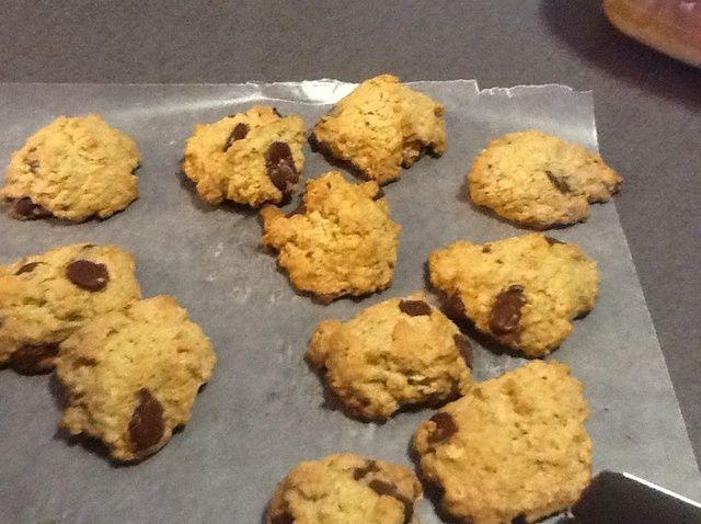 Cómo hacer galletas de chocolate de avena Receta