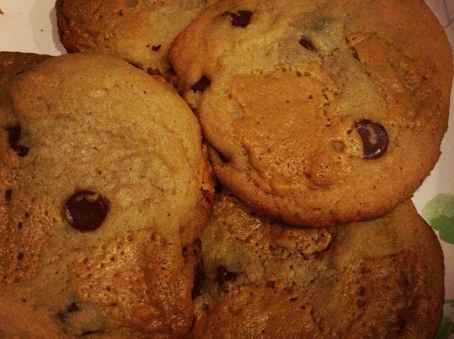 Cómo hacer chocolate chip galletas de mantequilla de maní Chunk: Receta D