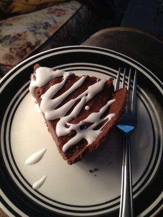 Traté de hacer de coco crema batida pero didn't work so I just drizzled it over the pie.