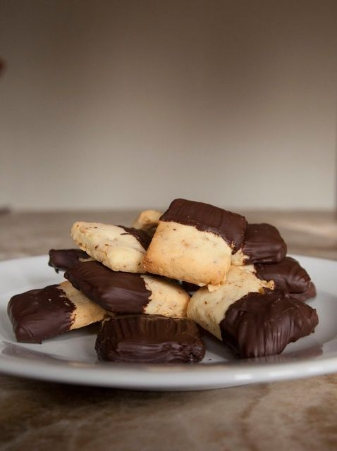 Cómo hacer chocolate sumergió avellana Galletas Receta