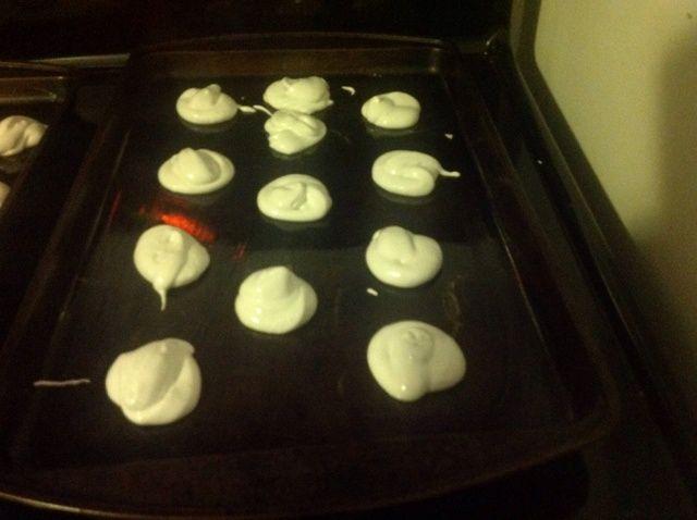 Cómo hacer chocolate sumergió Merengues Receta