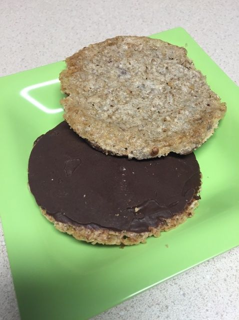 Fotografía - Cómo hacer galletas de chocolate de encaje