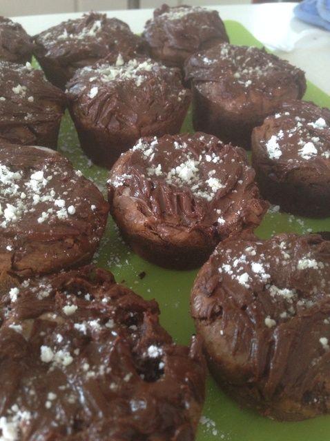 Cómo hacer chocolate melcocha Cupcakes Receta
