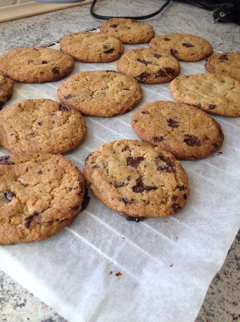 Cómo hacer chocolate-menta Receta de las galletas