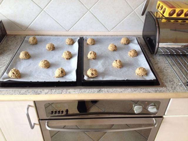 Hacer las galletas - Tengo aproximadamente 16.
